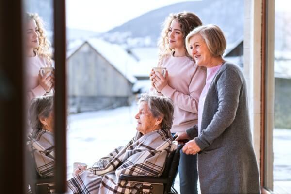 3 women family
